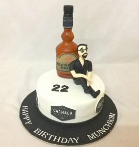 Birthday Cake - Man with his Whiskey