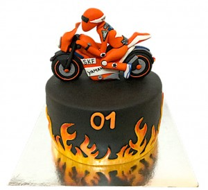 Yamaha Bike Birthday Cake