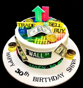 Happy Birthday Stock Market theme
