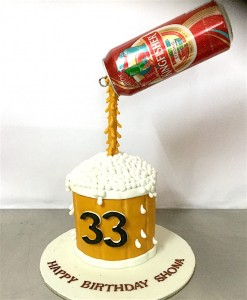 Beer Can Cake - 1 kg