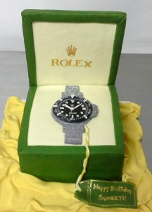 Birthday Cake Rolex Watch theme