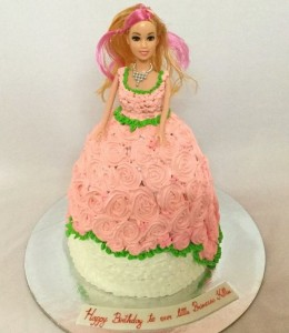 Peach Barbie Cake 1.5kg