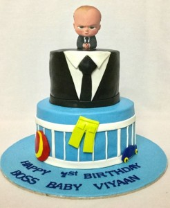 Boss baby themed cake 2kg