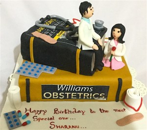 Doctor in Love Cake 2 kg