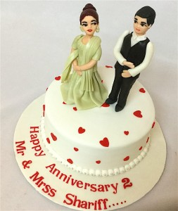 Shariff's 2nd Anniversary Cake- 1 kg
