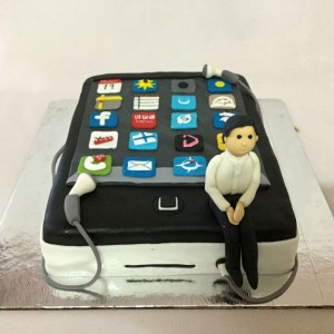 Birthday Cake for Phone addict