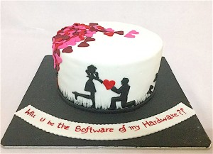 Will you marry me Cake- 1 kg
