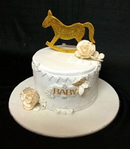Golden Horse Ride Cake 1kg