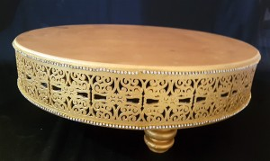 Cake Stand - Golden Cake Stand