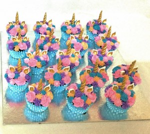 Unicorn Cream Cupcakes