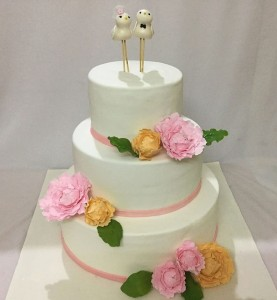 Lovely Chick Wedding Cake- 6 kg