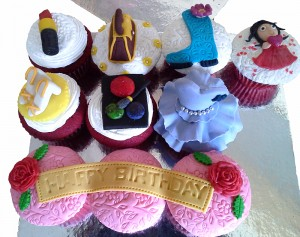 Red Carpet Diva CupCakes 10 nos
