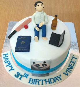 Vineets 31st Birthday Cake