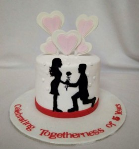 Celebrating Togetherness Cake 1.5kgs