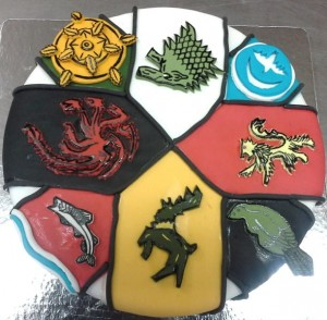 Birthday cake Game of Thrones Elements