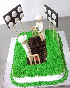 Cricket Pitch Cake - 1 kg