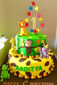 Animal Theme Aaditya  Cake - 2 kg