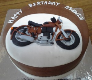 Birthday Cake Speedster 2D Bike