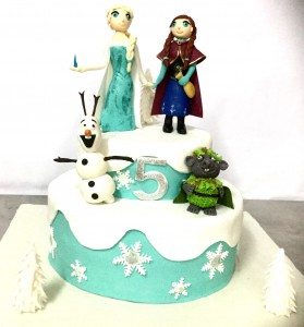 5th Birthday Frozen Cake 2 kg