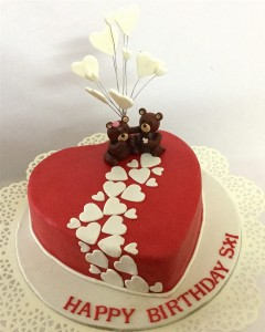 Red Hearts & Teddies 1  kg