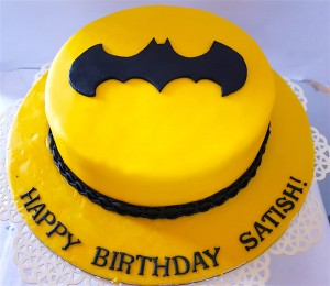 Batman Satish Cake 1 kg