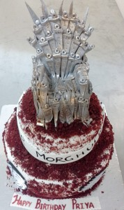 Winter is coming Throne Cake- 1.5 kg