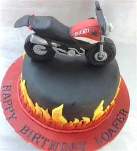 Ducati Custom Bike Cake 1.5 kg