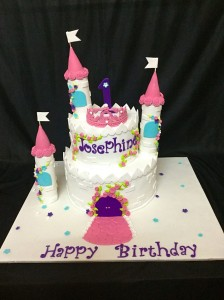 Josephine's Castle Birthday Cake