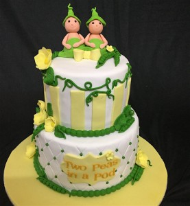 Twins Baby Shower Cake - 2 kg