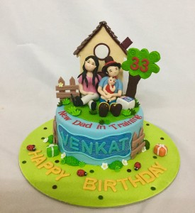 Venkat's happy house cake 1.5kg