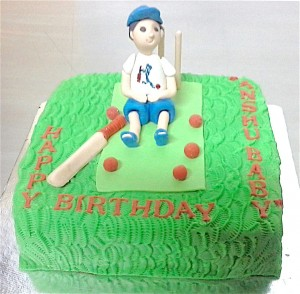 Cricket fan's Birthday Cake -1 kg