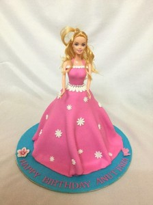 Anuttara's Barbie Birthday Cake