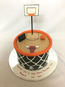 Basketball Court Cake 1 kg