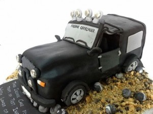 Black jeep Car Cake 2 Kg