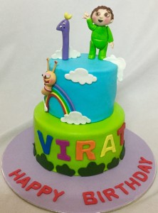 Baby TV Series Cake 2kg
