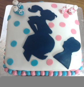 Parents to be- Baby Shower Cake - 1.5 kg