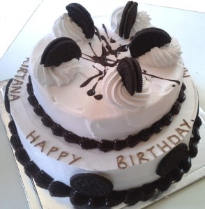 Happy Birthday Oreo Cake