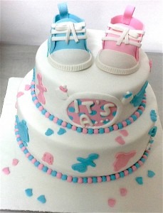 Baby Shower 2 Tier Cake - 2 kg