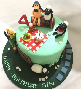 Party with Farm Animals Cake- 1  kg