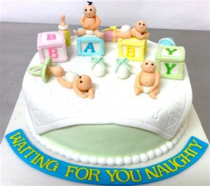 Baby Shower Naughty baby Cake 1 kg