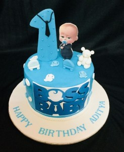 Little Boss baby cake 1kg