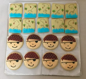 Pirates themed Cookies Set of 20