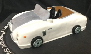 Custom Birthday Cake RR Car
