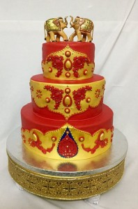 Traditional Indian Wedding Cake
