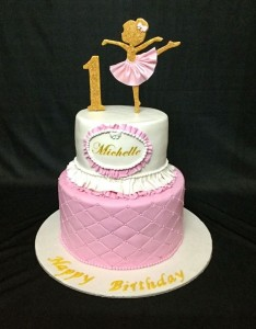 Michelle's 1st Birthday Cake