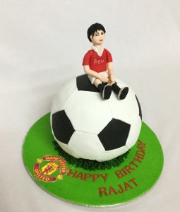 Man on a Football Cake - 1 kg