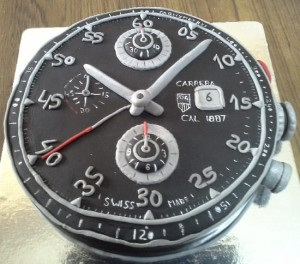Watch Theme Customized Cake