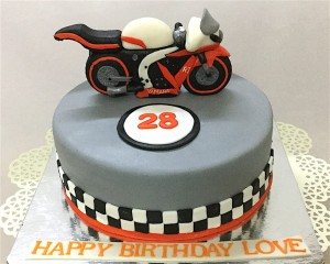 Ride with Attitude Bike Cake 1.5 kg