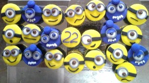 Minions  CupCakes - Set of 10