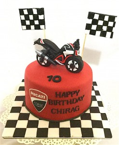 Ride Hard Bike Cake 1.5 kg
